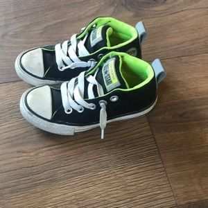 Toddler high top converse all stars size 11